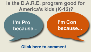 Share your thoughts on DARE and read, vote on, and reply to existing comments. Join the debate.