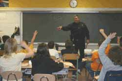 Officer Steven Havens of the Oneonta (NY) Police 